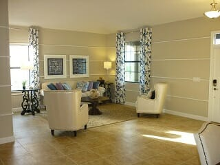 Living Room at Champions Gate